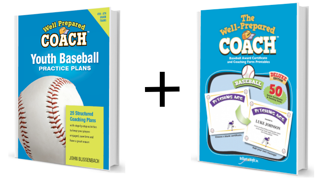 Youth Baseball Coaches practice plans image