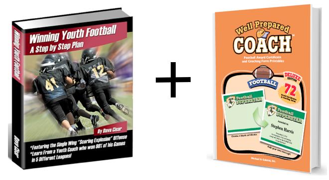 Football practice plans coaching bundle image