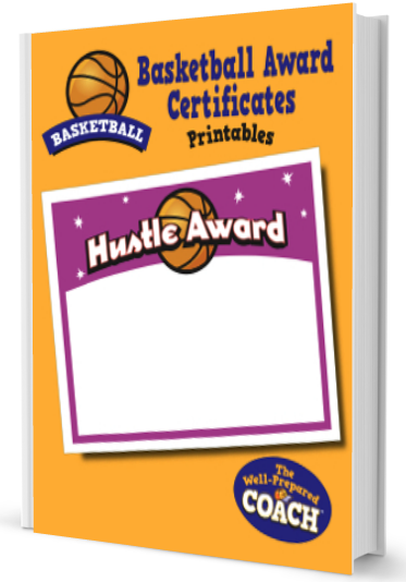 basketball award coach certificate certificates prepared well youth team players special coaches templates