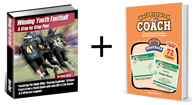 Football practice plans coaching bundle image