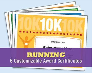 running certificate templates button