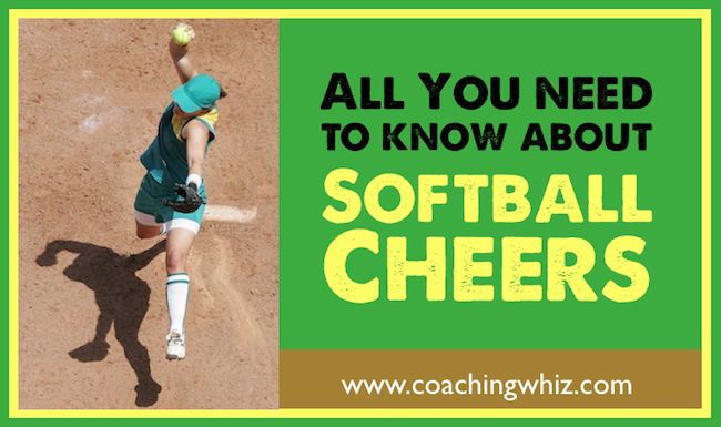 Softball cheers for players and fans image